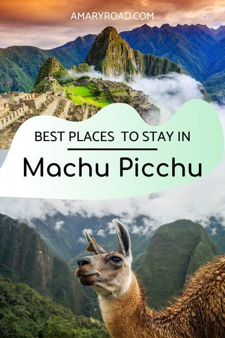 Our recommended Machu Picchu accommodations if you don't know yet where to stay in Aguas Calientes; luxury hotel, mid-range hotel, cheap hostels #machupicchutravel #machupicchuaccommodations #aguascalientes #traveltips #bucketlisttravel #travelideas #travelguide #amazingdestinations #traveltheworld via @amaryroad