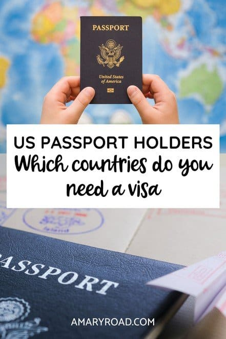 Here is a complete list of which countries require a visa for US citizens, we listed the visa on arrival and evisa. Plus how to apply for one and cost #usapassport #visaguideforamericans #uscitizens #traveltips #bucketlisttravel #travelideas #travelguide #amazingdestinations #traveltheworld via @amaryroad