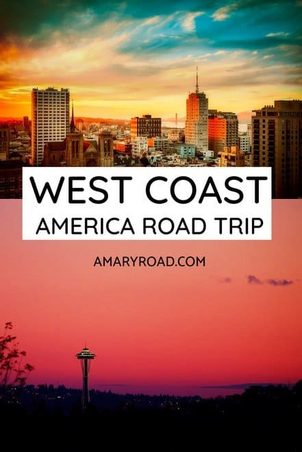 How to prepare for West Coast America road trip: What to pack, how to get ESTA, where to go, what to see, what to eat, safety tips #westcoast #roadtrip #usatravel #traveltips #bucketlisttravel #travelideas #travelguide #amazingdestinations #traveltheworld via @amaryroad