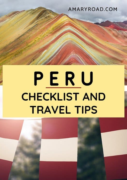 Travelling to Peru? Here are the important things to know before travelling to Peru, from visa, what to pack, when to go, dos and don'ts, tips #thingstodoinperu #perutraveltips #traveltoperu #peruvacation #macchupicchuperu #packingforperu #southamerica #amazingdestinations via @amaryroad