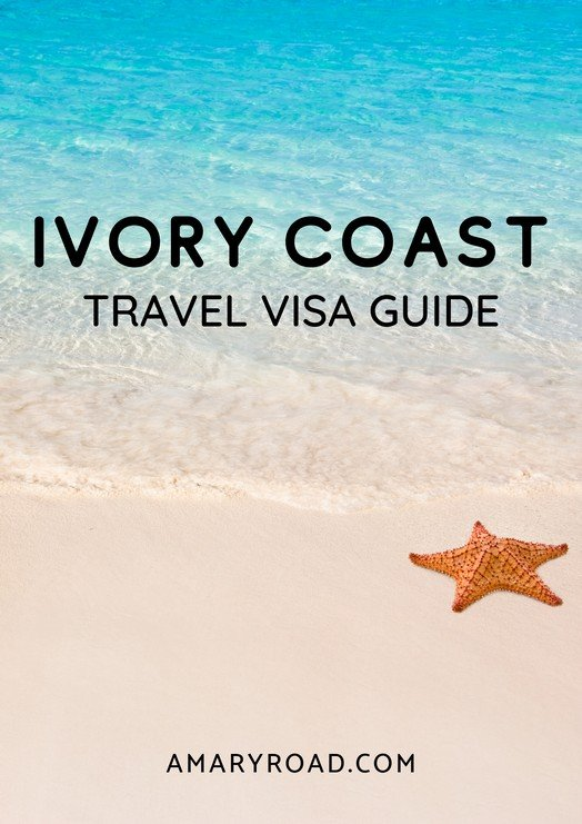 Find out how to get your Ivory Coast visa. Here is a step-by-step Ivory Coast evisa, cost, requirements, process time, visa-free countries, and tips. #ivorycoastvisa #ivorycoasttravel #africatravel #amazingdestinations #travelideas #visaguide #travelvisa via @amaryroad