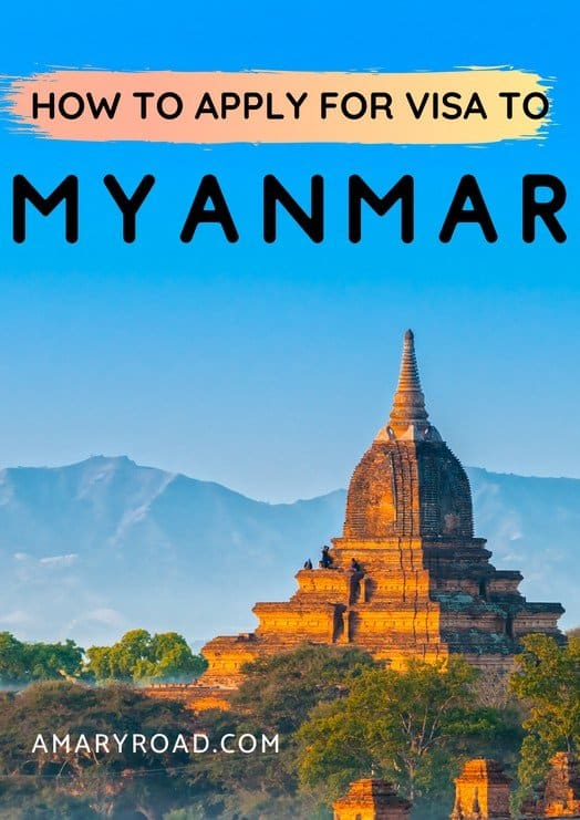 Heading to Myanmar soon? Here's a visa guide to Myanmar, a list of free visa, how to get a visa, evisa to Myanmar, and cost of visa. #myanmarvisa #myanmartravel #amazingdestinations #travelideas #visaguide #travelvisa via @amaryroad
