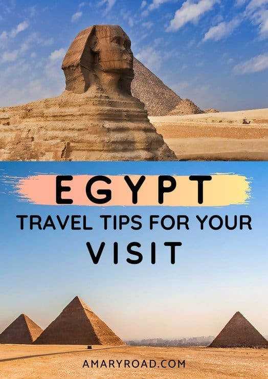 THINGS TO KNOW BEFORE TRAVELLING TO EGYPT