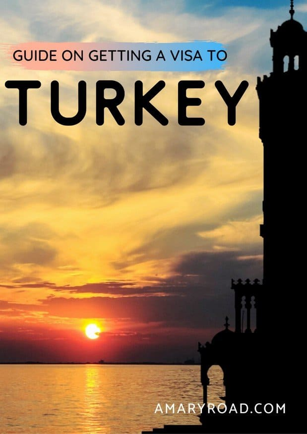 Here's your complete Turkey tourist visa guide. Included the ways to get your Turkish visa, where to get your visa, visa fees, Turkey evisa, and more! #amaryroad #turkeyvisa #turkeyevisa #turkeytouristvisa via @amaryroad